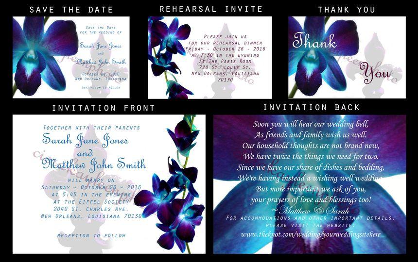 Wedding Invitation Designs