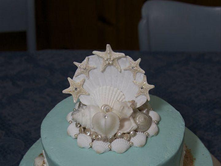 Tmx 1374470099003 Beach Vow Renewal New Castle wedding cake