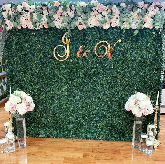 7FT Hedge Wall Marquee Letters