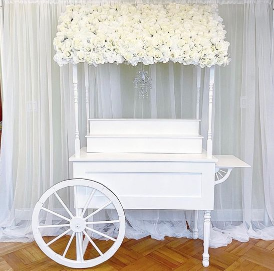 7FT Candy Cart