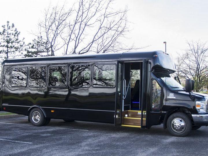 Tmx 23pax Limo Bus1 51 712171 Saint Louis, MO wedding transportation