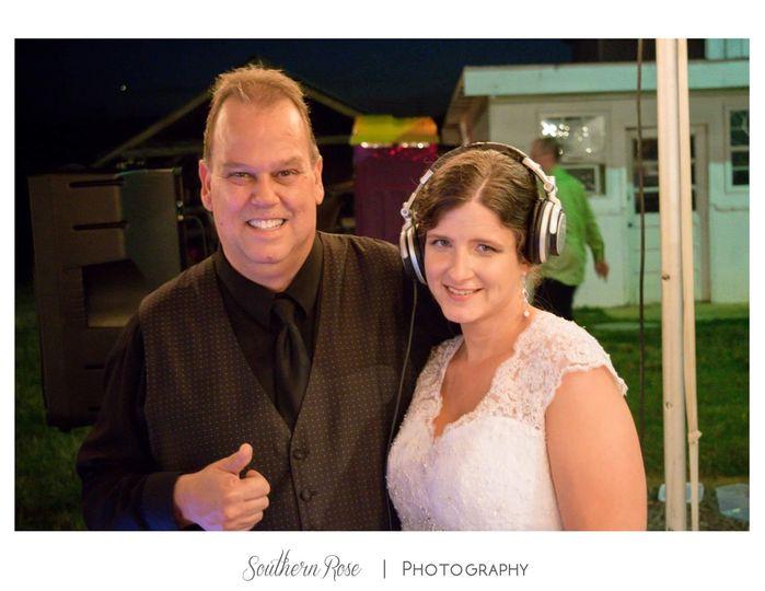 Dj Joe Eastmann and Bride