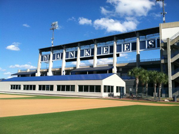 The new Yankees Pavilion