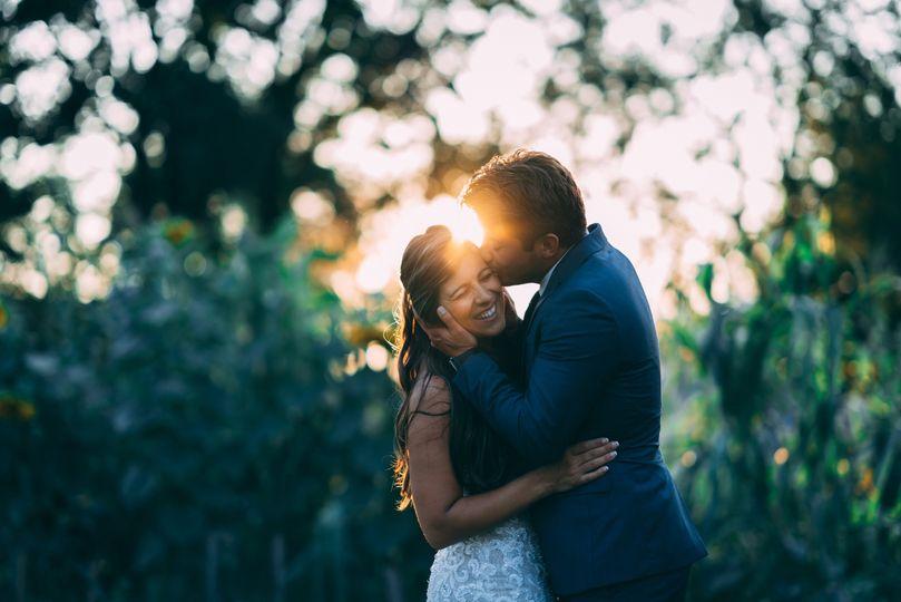 The happy couple - Ian St. Pierre Photos