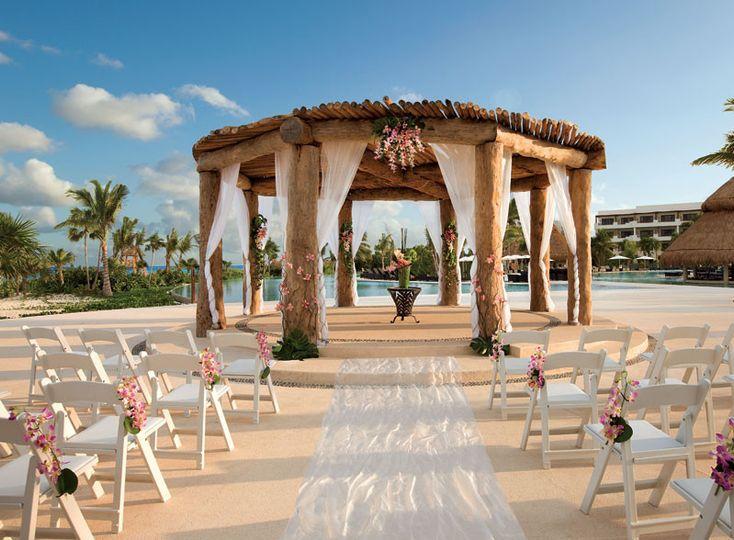 riviera maya cancun wedding gazebo