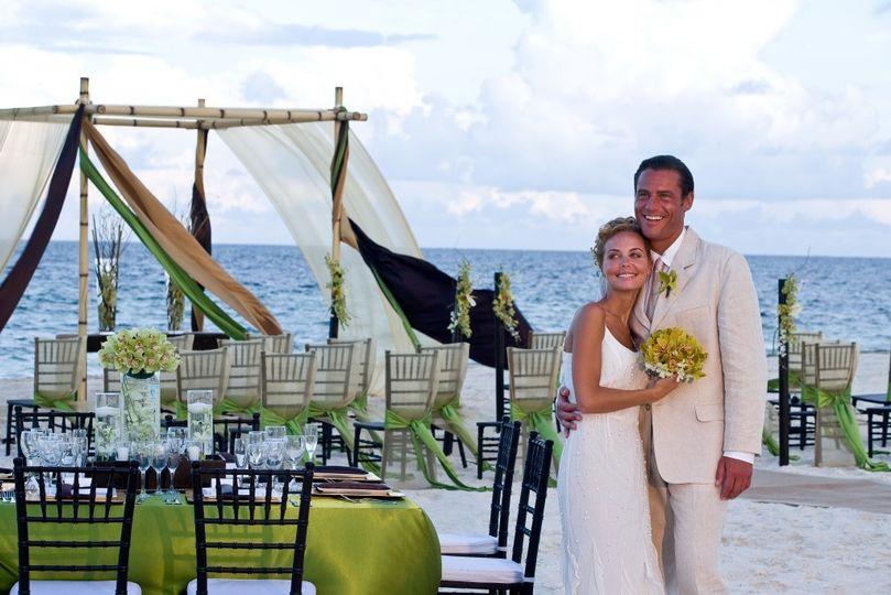 moon palace golf spa resort wedding cancun