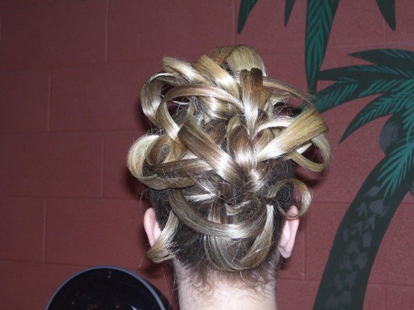 I call this Silk Ribbons, Updo!