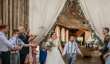 The wedding of Chloe and Josh