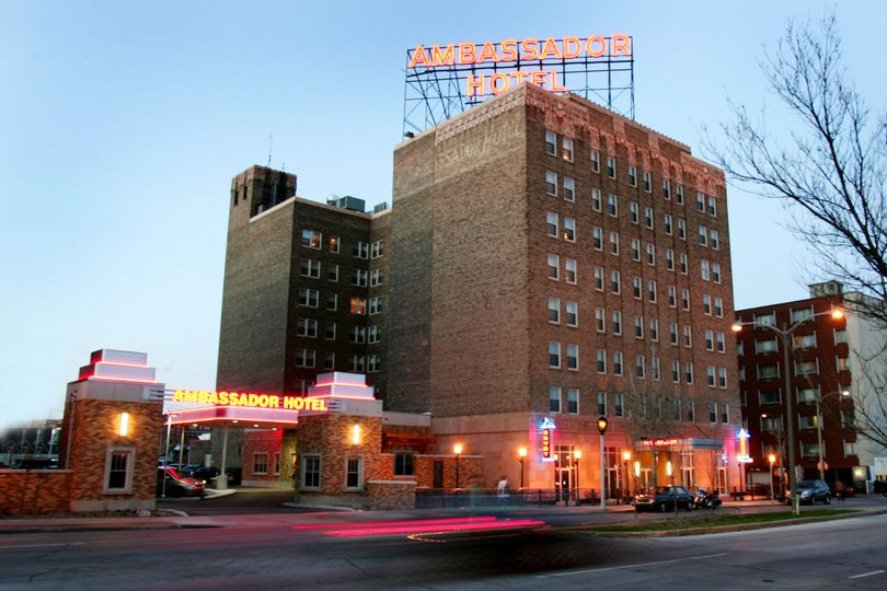 Exterior view of the Ambassador Hotel