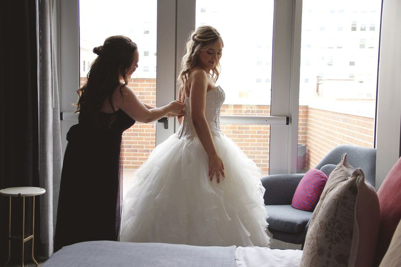 Bridal Party in Astra Suite