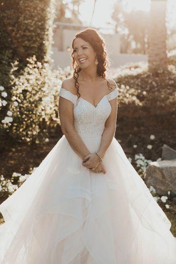 A beautiful princess gown