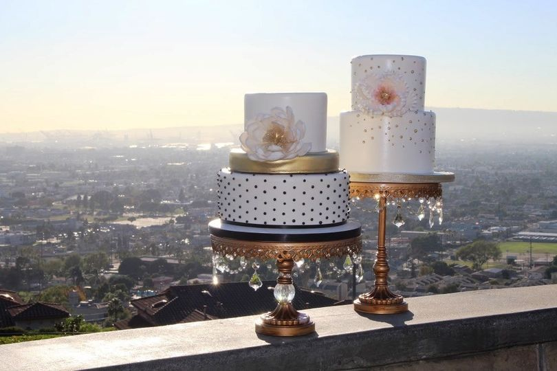 Two superbly dainty cakes