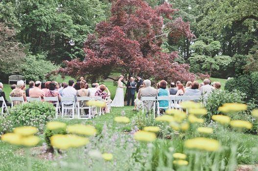 wedding ceremony great lawn