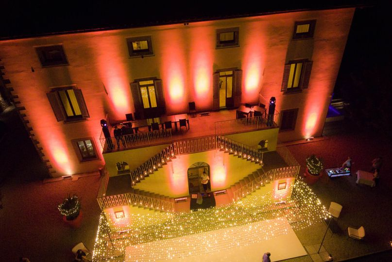 castello la leccia lighting
