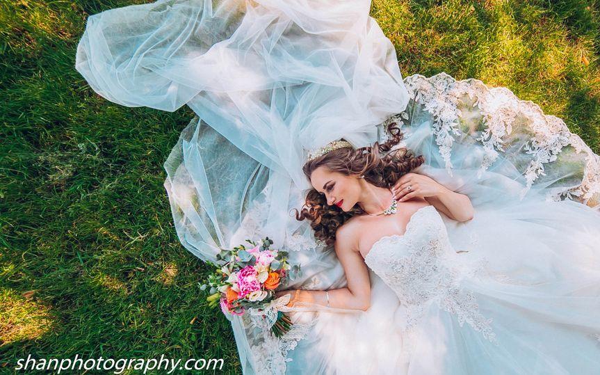 Bride solo shot