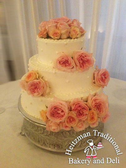 Heitzman Traditional Bakery And Deli Wedding Cake Louisville