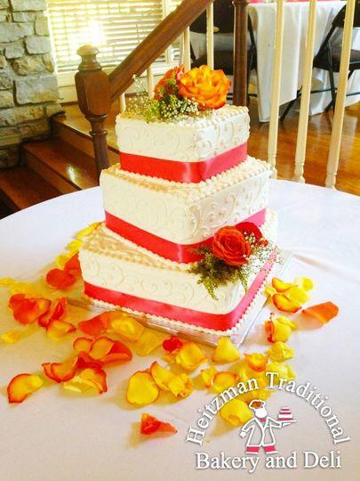 Heitzman Traditional Bakery And Deli Wedding Cake Louisville