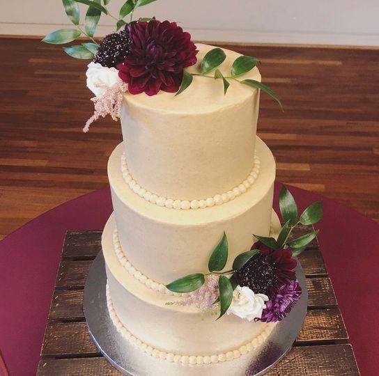 3-tier cake