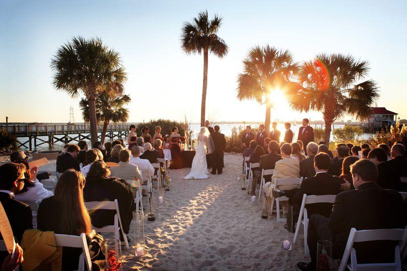 800x800 1421427954649 Beach Wedding Aerial Shot Signature 1421427916950 As247