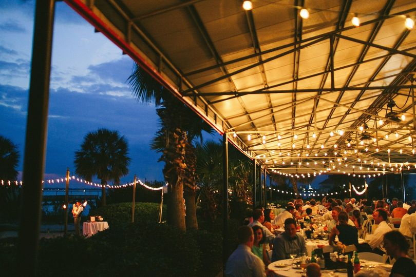 Charleston harbor resort marina venue mount pleasant sc 800x800 1421428292349 wedding pier pierson 800x800 1421428310092 sunrise terrace with beach evening junglespirit