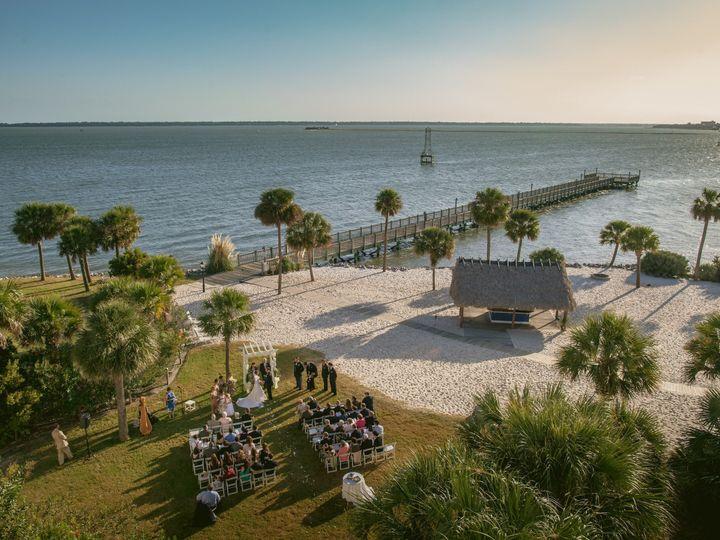 Tmx 1421427954649 Beach Wedding Aerial Shot Signature Mount Pleasant, SC wedding venue