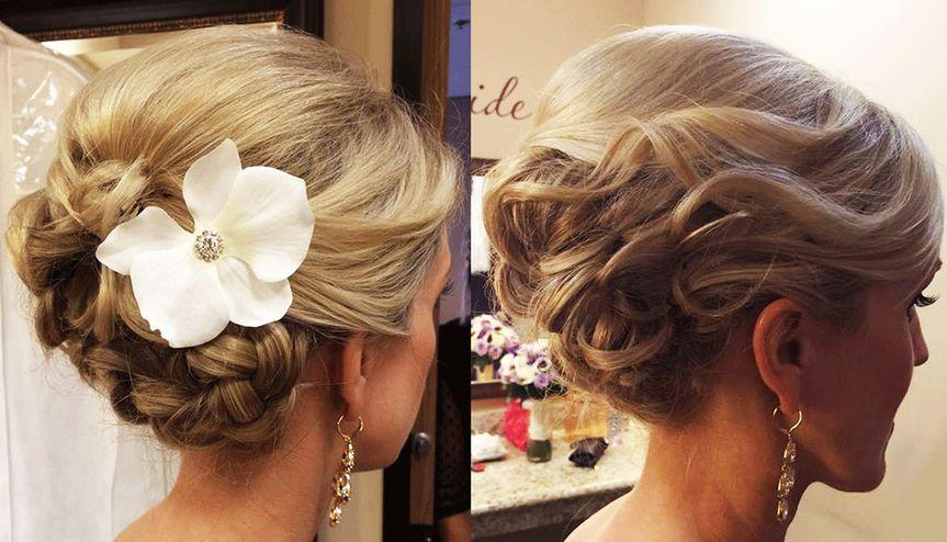 bridal hair braided updo wedding ideas 2