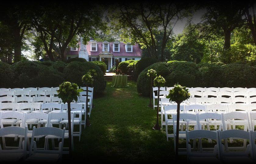 Meadowlark Gardens Ceremony