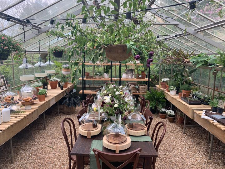 Meadowlark Greenhouse Dinner