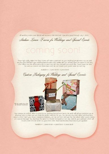 Customized package designs