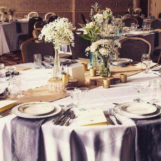 Hilton wedding reception