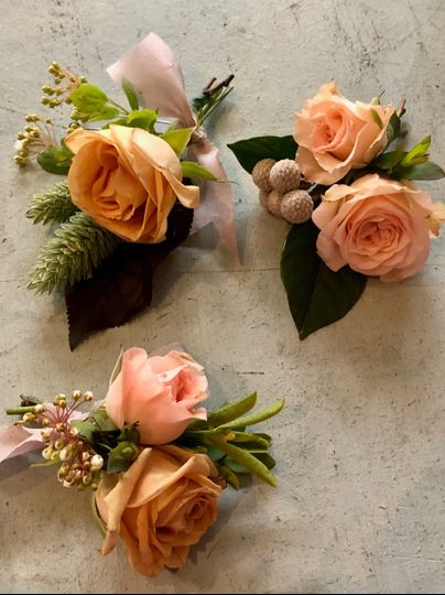 May Boutonnières