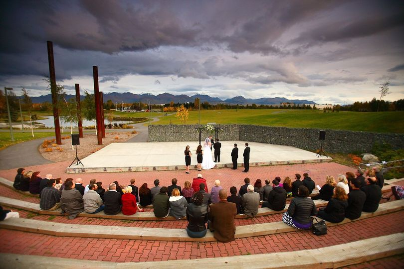 Out door Ceremony - Cuddy Park Amphitheatre
