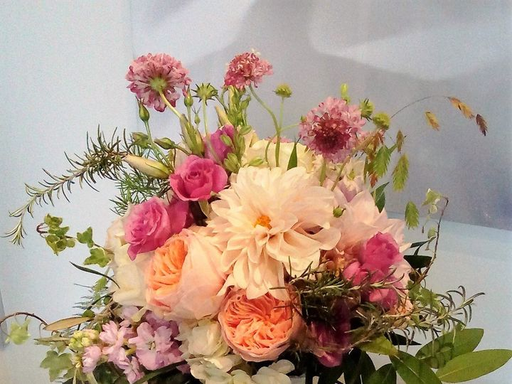 Tmx 1489087650190 Pink And Peach Bouquet Atlanta, Georgia wedding florist
