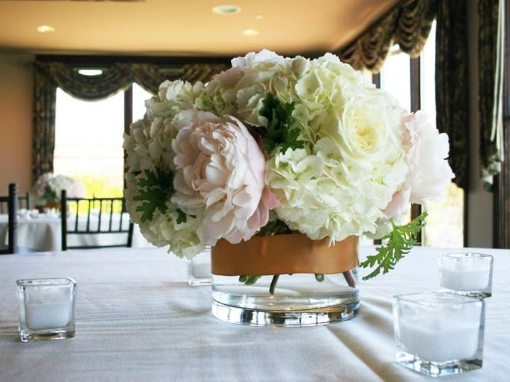 Tmx 1489165405824 Hydrange Peonie Centerpiece Atlanta, Georgia wedding florist