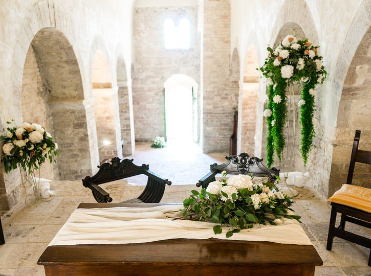 Ancient abbey civil ceremony
