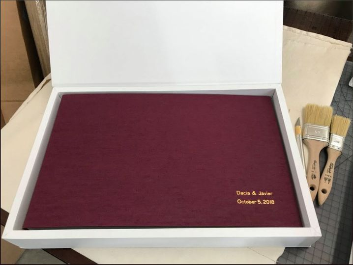 Custom foil stamping