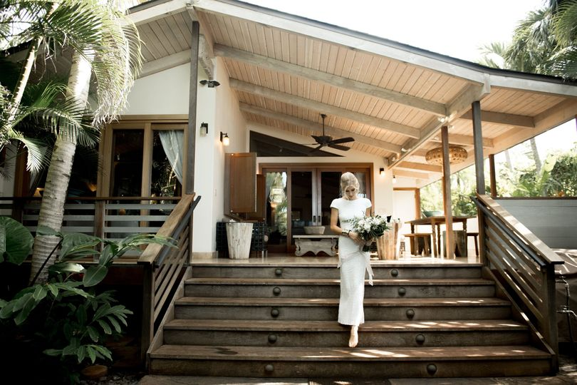 Beach house bridal retreat