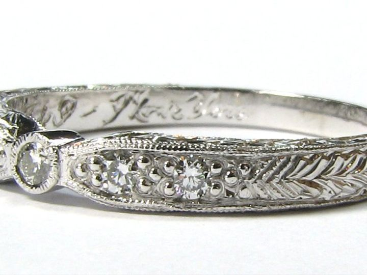 Tmx 1346944073807 Engraved1 Sudbury, MA wedding jewelry