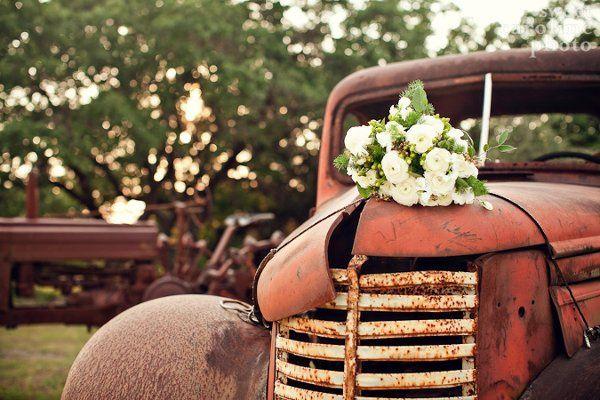 Wedding venue rustic design