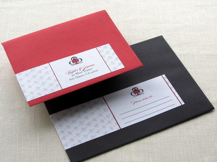 Tmx 1437504999872 Vegas Labels Front Phoenixville wedding invitation