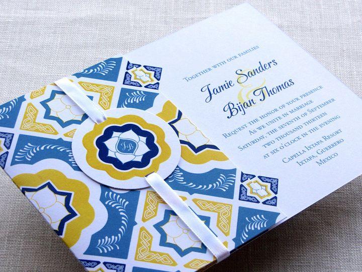Tmx 1437506864504 Mexican Flap Invitation 3 Phoenixville wedding invitation
