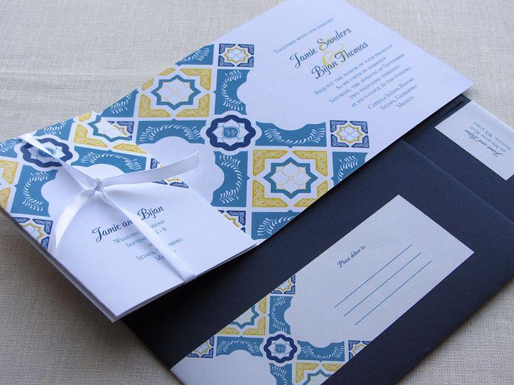 Tmx 1437506869929 Mexican Flap Invitation W Envelopes Phoenixville wedding invitation