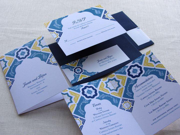 Tmx 1437506875496 Mexican Flap Invite Inserts Phoenixville wedding invitation