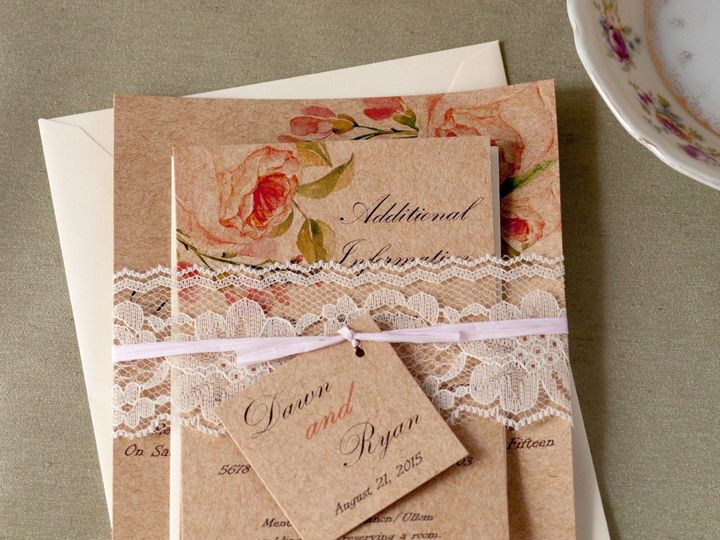 Tmx 1454086096300 Invitations 5675 2 Eau Claire, WI wedding invitation