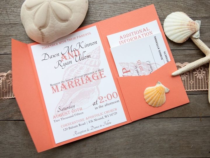 Tmx 1454086816514 Invitations 6059 2 Eau Claire, WI wedding invitation