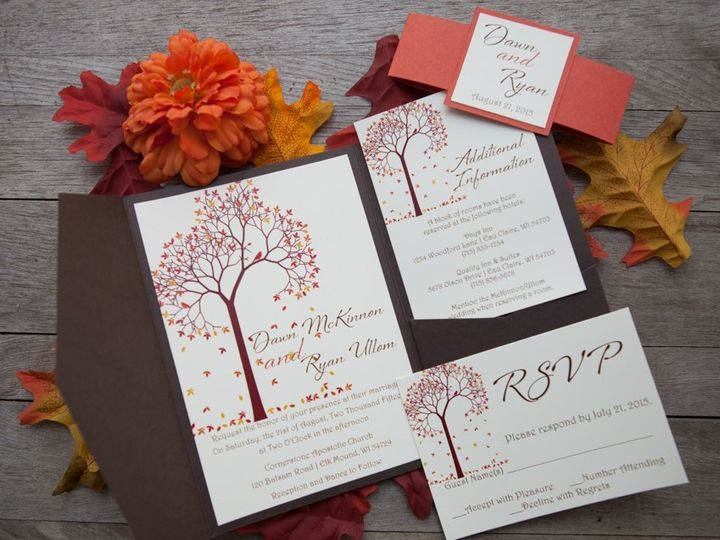 Tmx 1454086821639 Invitations 6069 2 Eau Claire, WI wedding invitation