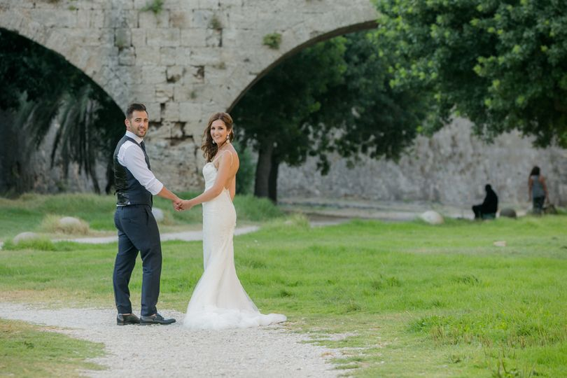 weddings in greece location photoshoot medieval