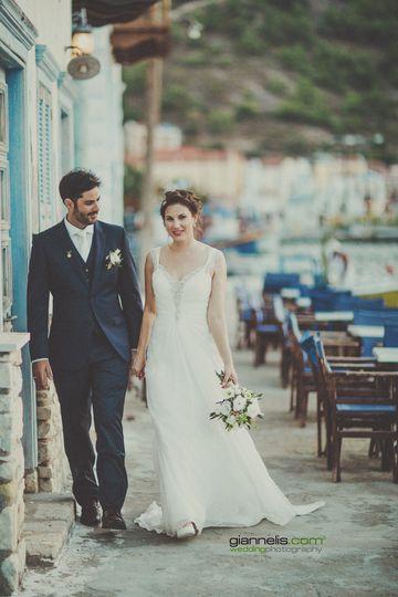 destination wedding in kastellorizo golden apple