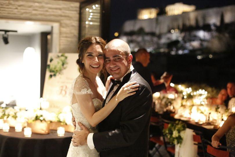 destination wedding in athens turkish couple gol