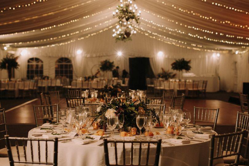 Gorgeous Reception Tent
